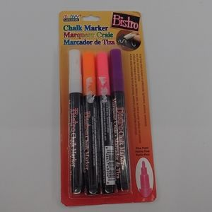 Marvy Uchida Chalk Markers 4 Pack - New